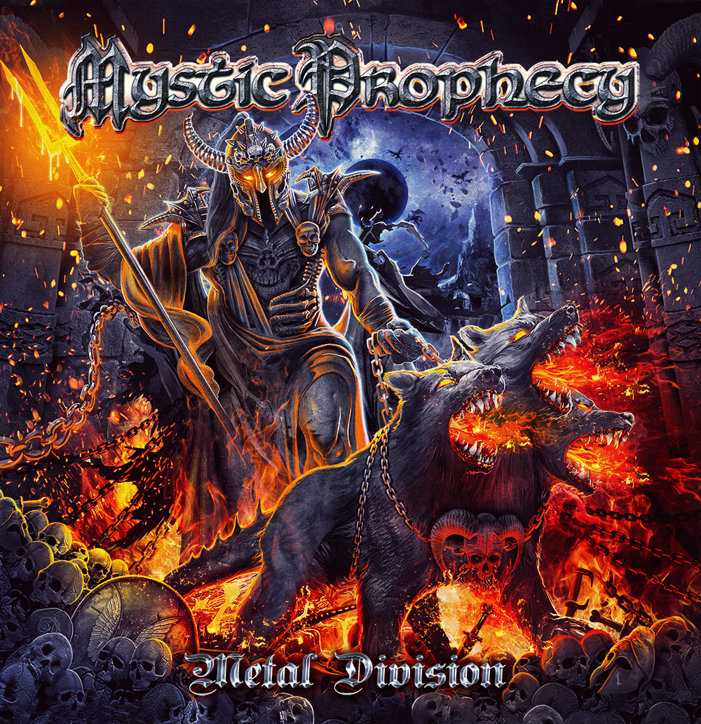 """Formats of our new album """"METAL DIVISION"""" – Mystic Prophecy"""
